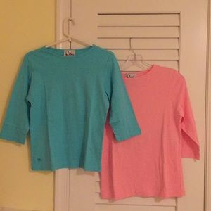 Vintage Lilly Pulitzer tees